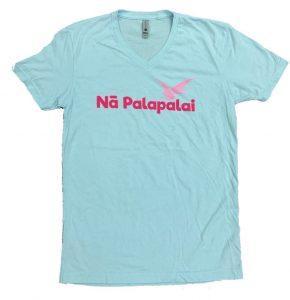 Na Palapalai  Tシャツ(水色)